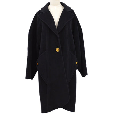 CHANEL 24 #36 Long Coat Black
