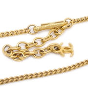 CHANEL Gold Pendant Necklace 98A