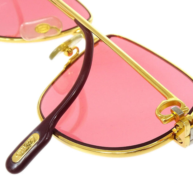 Cartier Reading Glasses Eye Wear Pink 59/14 Small Good