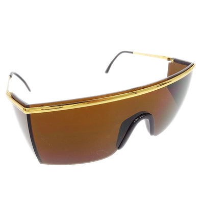 GIANNI VERSACE Sunglasses Eye Wear Brown Mod.790 Col.030 Small Good