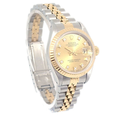 ROLEX OYSTER PERPETUAL DATEJUST Ref.69173G Ladies Self-winding watch