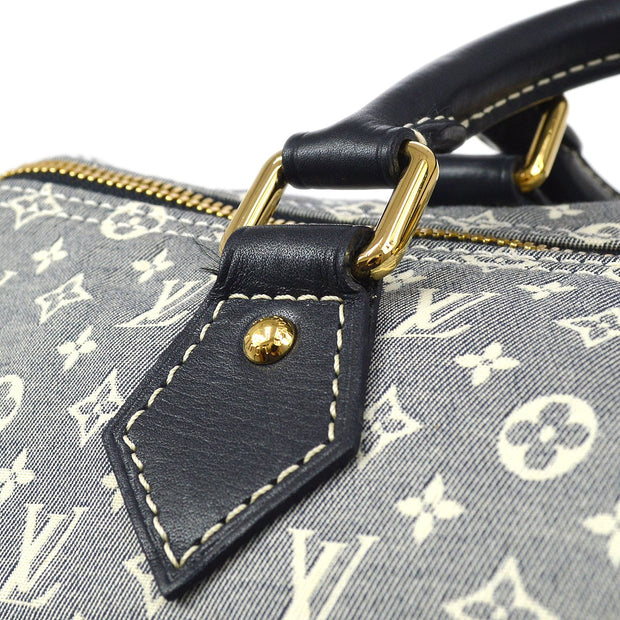 LOUIS VUITTON SPEEDY 30 BANDOULIERE HAND SHOULDER BAG MONOGRAM IDYLLE M56703