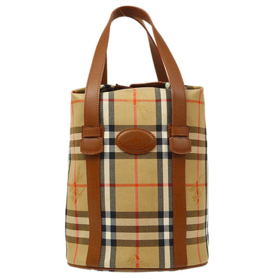 BURBERRY'S House Check Hand Tote Bag Beige
