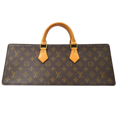 LOUIS VUITTON SAC TRIANGLE HAND BAG MONOGRAM M51360