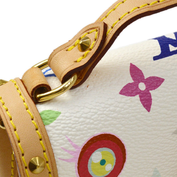 LOUIS VUITTON POCHETTE EYE MISS YOU HAND BAG EYE LOVE MONOGRAM M92055