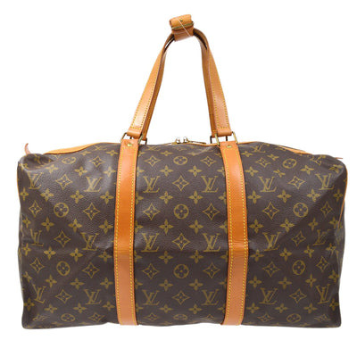 LOUIS VUITTON SAC SOUPLE 45 TRAVEL DUFFLE HAND BAG MONOGRAM M41624