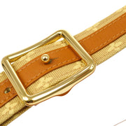 LOUIS VUITTON CEINTURE BELT MONOGRAM MINI M6817 85/34 BEIGE Small Good