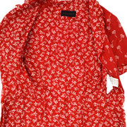 COMME Des GARCONS Setup Jacket Dress Skirt Red