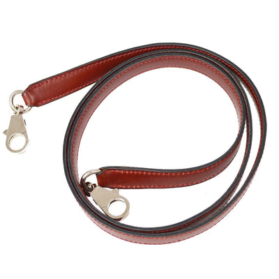 HERMES Shoulder Strap For Kelly Bordeaux Box Calf Small Good
