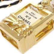 CHANEL Gold Perfume Pendant Necklace