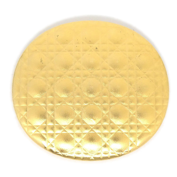 Christian Dior Compact Mirror Gold Small Good