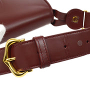 Cartier Must de Cartier Hand Bag Bordeaux