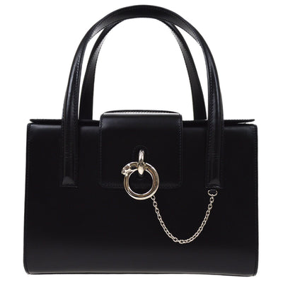 Cartier Panther Hand Bag Black