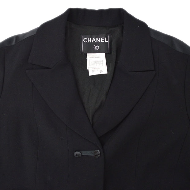 CHANEL 03A #42 Coat Black