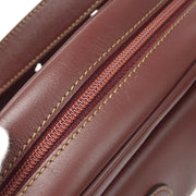 CARTIER Must De Cartier Shoulder Bag Bordeaux