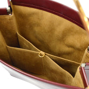 Cartier Trinity Hand Bag Bordeaux