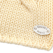 CHANEL 99A #38 Fisherman Sweater Knit Ivory