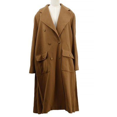 CHANEL 95A #40 Double Breasted Long Coat