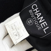 CHANEL 97P #38 Single Breasted Jacket Black