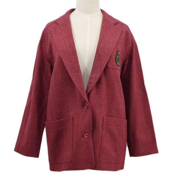 Christian Dior Sports Single Breasted Jacket #S Red