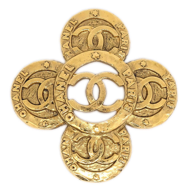 CHANEL Brooch Gold-Tone 1231/28