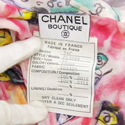 CHANEL 94P #34 Front opening Shirt Pink