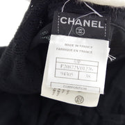 CHANEL 03P #38 Sleeveless Camisole Tops Black
