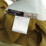 CHANEL 99P #36 Zip-up Jacket Beige