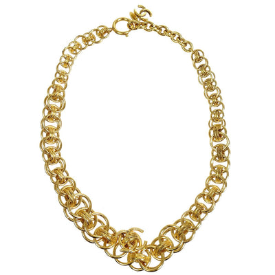 CHANEL Gold Chain Necklace