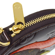 LOUIS VUITTON PORTE MONNAIE ECUREUIL COIN PURSE WALLET AMARANTE M91386