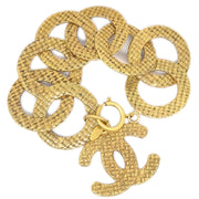CHANEL Gold Chain Bracelet 29