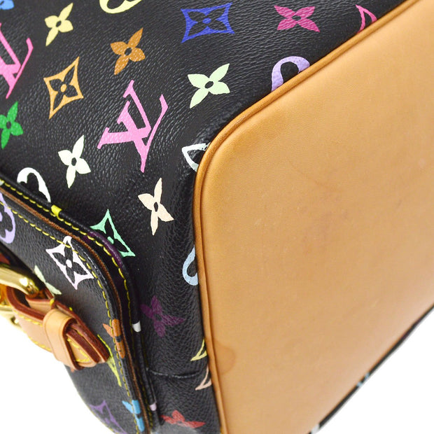 LOUIS VUITTON PETIT NOE DRAWSTRING SHOULDER BAG MONOGRAM MULTI M42230