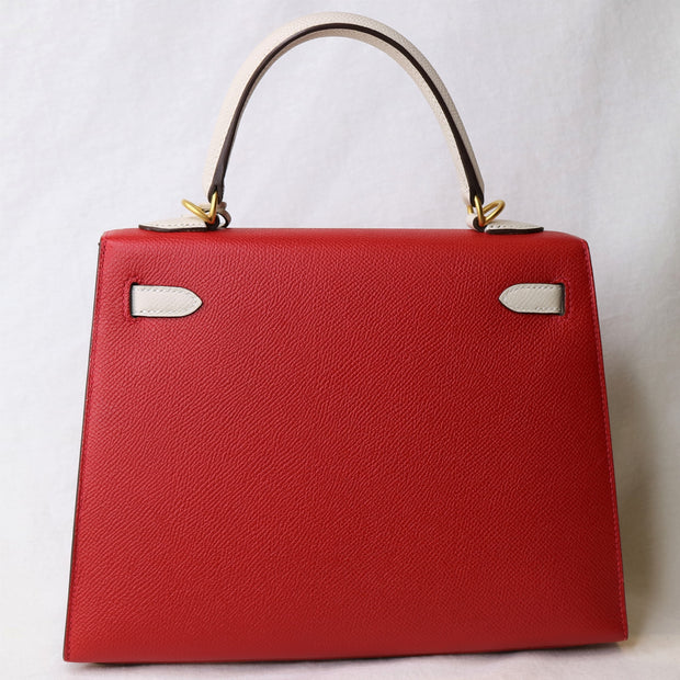 Hermes Kelly 25 Sellier Hand Bag Special Order