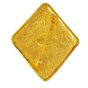 CHANEL CC Logos Brooch Gold from 1980's