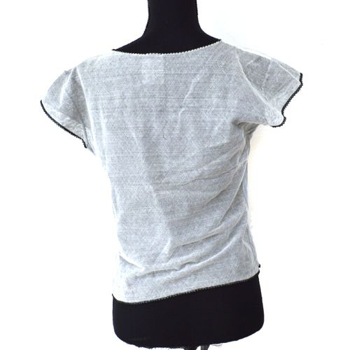 CHANEL CC Logos Sleeveless Tops #44 Gray 04P