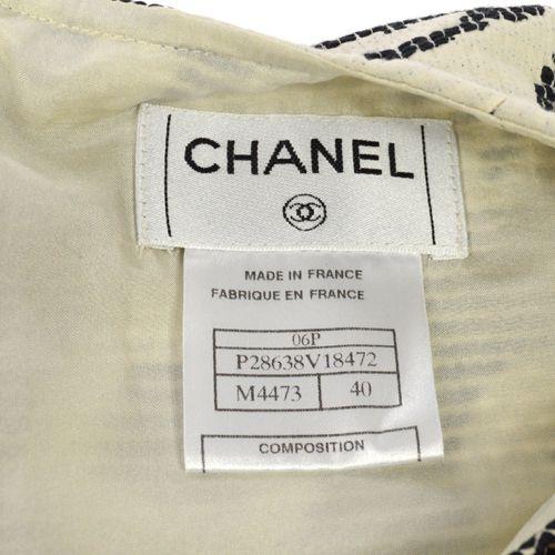 CHANEL CC Logos Sleeveless Tops #40 Gray