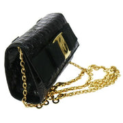 Salvatore Ferragamo 2way Shoulder Bag Bum Bag Black