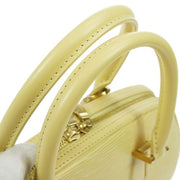 LOUIS VUITTON Jasmin Hand Bag Epi Vanilla M5208A