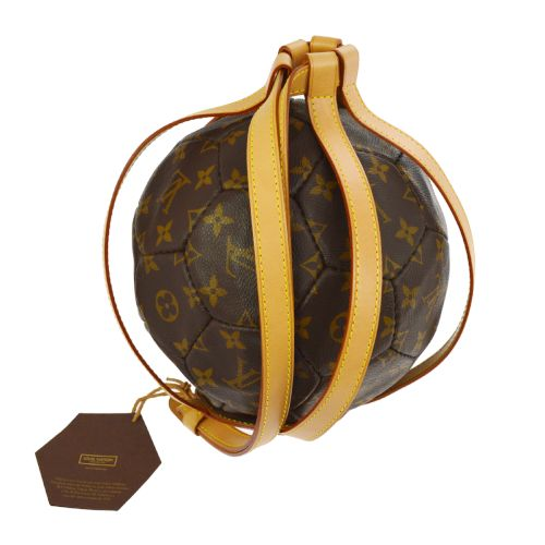 LOUIS VUITTON SOCCER BALL MONOGRAM 1998 WORLD CUP MEMORY LIMITED EDITION M99054