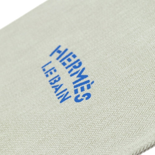 HERMES Le Bain Yachting Chevrons Drawstring Pouch