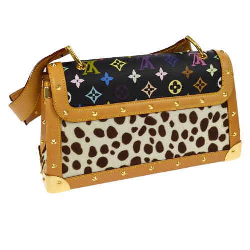 LOUIS VUITTON SAC DALMATIAN SHOULDER BAG MONOGRAM MULTI COLOR M92825