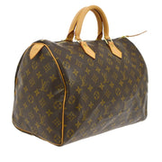 LOUIS VUITTON SPEEDY 35 HAND BAG MONOGRAM PURSE M41524