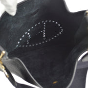 HERMES EVELYNE GM Shoulder Bag Black Taurillon Clamence