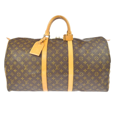 LOUIS VUITTON KEEPALL 55 TRAVEL HAND BAG MONOGRAM M41424