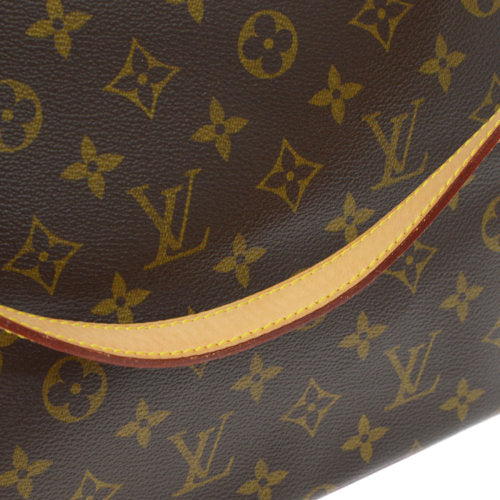 LOUIS VUITTON CABAS MEZZO SHOULDER TOTE BAG MONOGRAM M51151