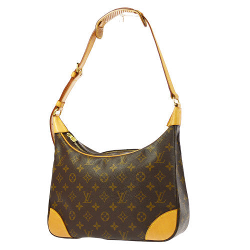 LOUIS VUITTON BOULOGNE 30 SHOULDER BAG MONOGRAM M51265
