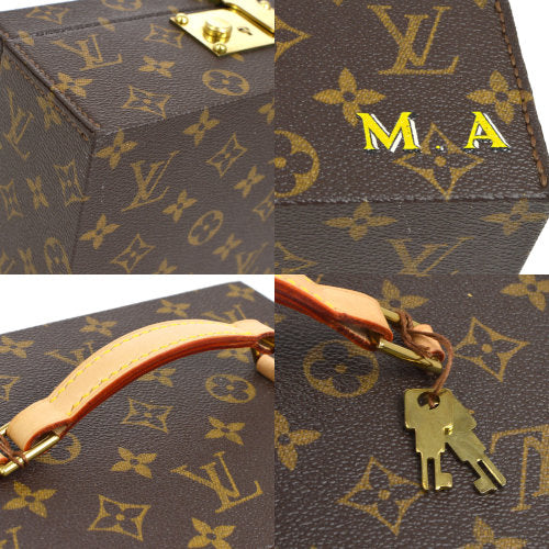 LOUIS VUITTON BOITE A TOUT JEWELRY BOX MONOGRAM SP ORDER