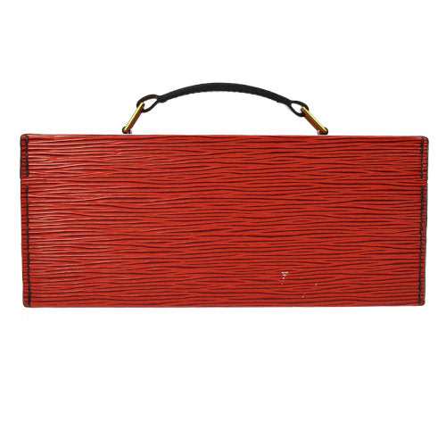 LOUIS VUITTON BOITE A TOUT JEWELRY BOX HAND BAG RED EPI
