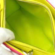 Christian Dior Lady Dior 2way Hand Bag Tricolor
