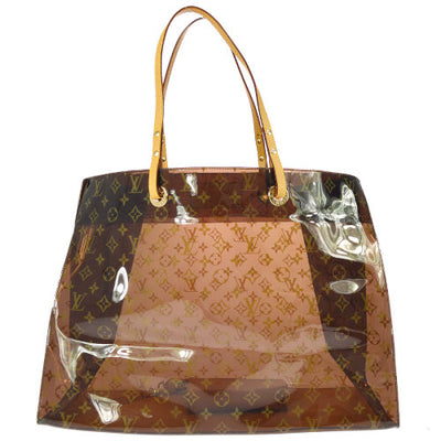 LOUIS VUITTON CABAS CRUISE HAND TOTE BAG MONOGRAM VINYL M50500